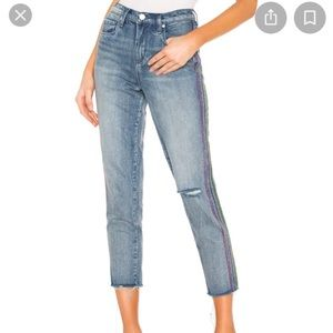 Blank NYC high-waisted ankle jeans